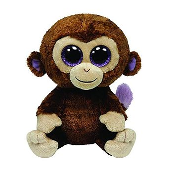"""TY Beanie Boos Original 6"""" 18cm Coconut the Monkey Plush Stuffed Animal Collectible Soft Doll Toy 2017 New Gifts for Children"""