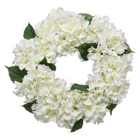 Threshold™ Hydrangea Wreath - White