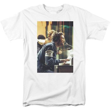 John Lennon Men's  Peace T-shirt White