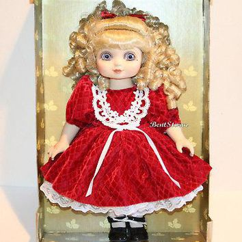 """Licensed cool 15"""" Adora Belle Holiday Cheer by Marie Osmond Christmas Doll Target Exclusive"""