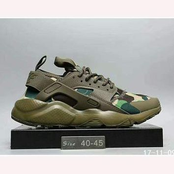 Nike Wallace running sports shoes F-HAOXIE-ADXJ Camouflage Green