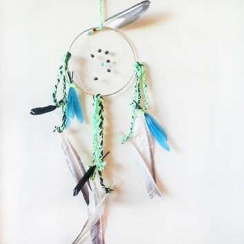Dream Catcher, DreamCatcher, Bohemian, Decor, Boho, Home Decor, Handmade, Native Inspired, Unique Gift, Baby Shower Gift, Anniversary Gift