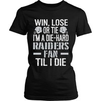Raiders Fan Til I Die