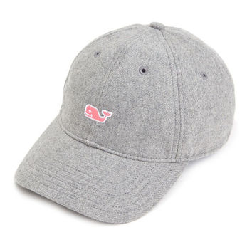 Vineyard Vines Flannel Baseball Hat