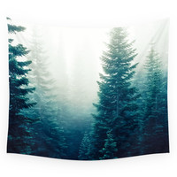 Society6 Evergreen Wall Tapestry