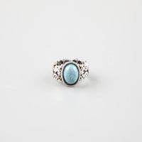 FULL TILT Filigree Turquoise Stretch Ring 246332140 | Rings