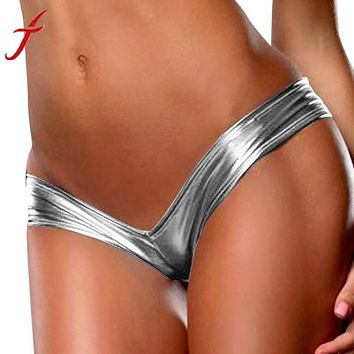 G-String Sexy Underwear Bare Imitation Leather
