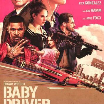 Baby Driver Movie Poster 24x36