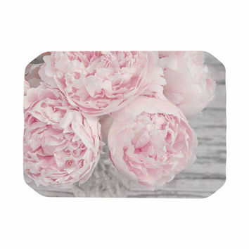 "Suzanne Harford ""Pink Peony Flowers"" Floral Photography Place Mat"