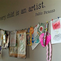 Every Child is an Artist Vinyl Vinyl Wall Decal LARGE