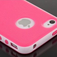 Hybrid Ultra Protective Defender Case For Apple iPhone 6 6S Shockproof Rubber