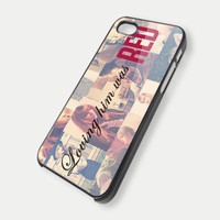 Loving Him Was RED Taylor Swift iPhone 5 iPhone Case And Samsung Galaxy Case