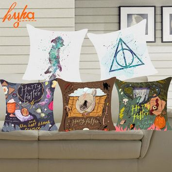 Harry Potter Dobby Polyester Cushion Cover Pillow Cover Decor