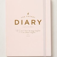 The Pocket Diary by Anthropologie Pink One Size House & Home