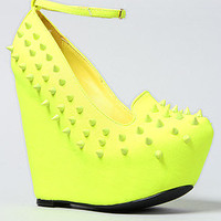 *Sole Boutique The Sakina Shoe in Yellow : Karmaloop.com - Global Concrete Culture