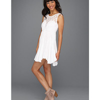 Free People Fiesta Dress White - Zappos.com Free Shipping BOTH Ways