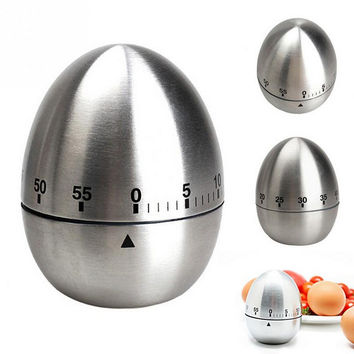 Hot Deal Kitchen Helper Easy Tools On Sale Home Kitchen Stainless Steel Clock Innovative Timer [11499264975]