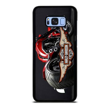 MOTORCYCLE HARLEY DAVIDSON Samsung Galaxy S8 Plus Case Cover