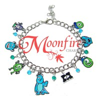 MONSTERS INC Cartoon Fandom Charm Bracelet
