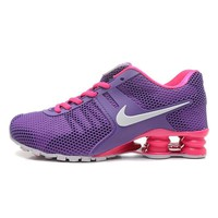 Fashion Online Nike Shox Current Woman Men Fashion Breathable Sneakers Sport Shoes