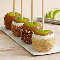 Hand-Dipped Caramel Apples - Traditional Collection at Shari's Berries