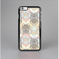 The Vintage Abstract Owl Tan Pattern Skin-Sert for the Apple iPhone 6 Skin-Sert Case