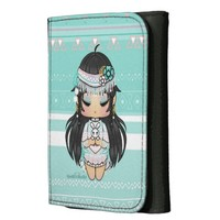 Kawaii Chibi Indian Wallet