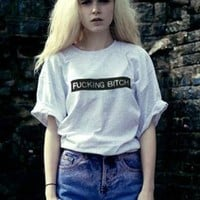 HIPA fucking bitch t-shirt from mancphoebe