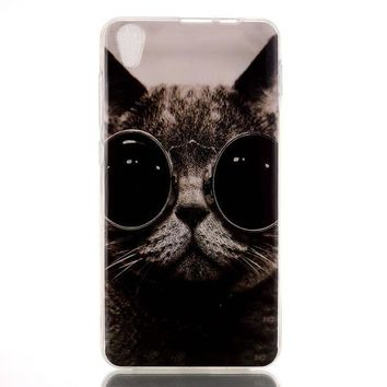 Glasses Cat Case Cover for iPhone & Samsung Galaxy iPhone 6s Plus-170928