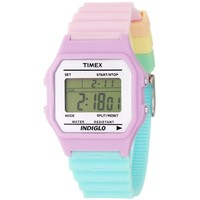 Timex Women's T2N4869J Fashion Digitals Premium Purple Watch