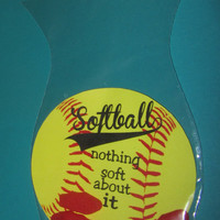 SOFTBALL Favor,kids party,Party treat,party favor, birthday favor,round Bags and ties INCLUDED