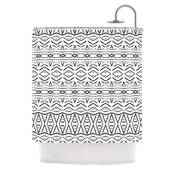 "Pom Graphic Design ""Tambourine"" Shower Curtain - Outlet Item"