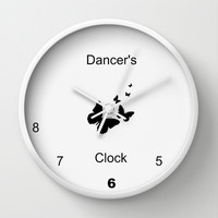 Dancer Clock Wall Clock by Laura Santeler