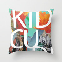 KID CUDI Throw Pillow by Gary Coutts | Society6