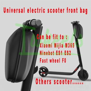 Universal scooter front storage bag Ninebot ES2 ES1 Xiaomi Mijia M365 Bird Sharing scoote electric scooter bag spare parts