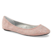 Crystal Embellished Flat