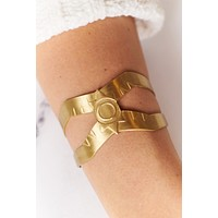 Evening Debut Cuff (Antique Gold)