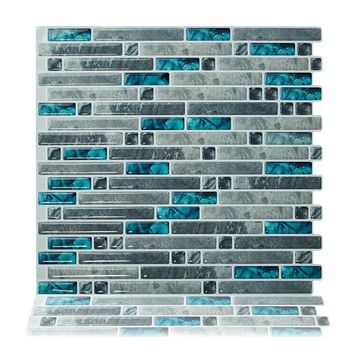 Cocotik Peel and Stick Tile Backsplash 3D Self Adhesive Mosaic Wall Decal Sticker DIY Kitchen Bathroom Home Decor Vinyl Tiles