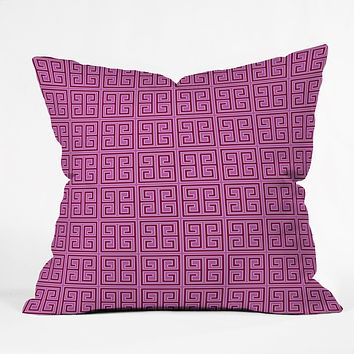Caroline Okun Violaceous Throw Pillow