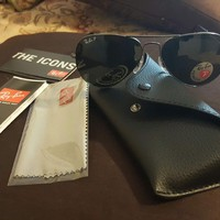Cheap *NEW**Ray-Ban Men's RB3025 004/58 62mm Large Aviator Metal Polarized Sunglasses outlet