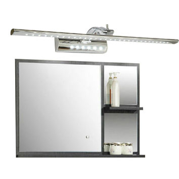 Cheapest 7W Bathroom Led Mirror Light Ac220V Smd5050 Stainless Steel Dressing Table Sconces Led Wall Lamps W/ Switch