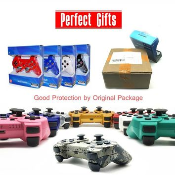 For SONY PS3 Controller Bluetooth Gamepad for Play Station 3 Joystick Wireless for Sony Playstation 3 With Package boxes Gifts