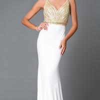 Long Empire Waist Sweetheart Temptation Prom Dress TE-5028