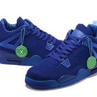 Air Jordan 4 Weave Blue Size 40-47