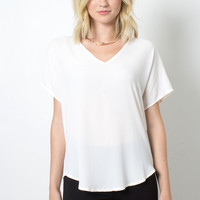 Decker Audrey Top - Blush