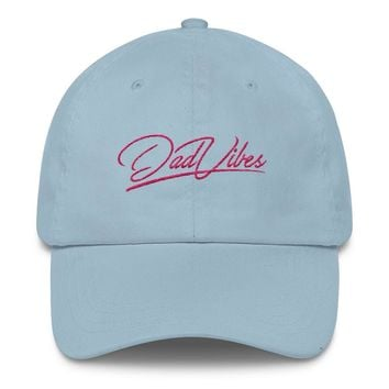 Dad Vibes Embroidered Dad Hat