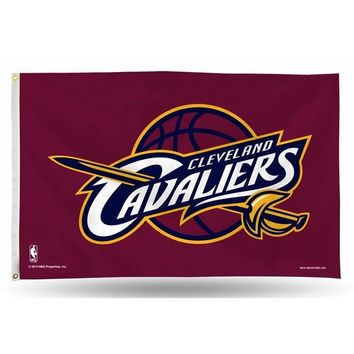 Cleveland Cavaliers Flag 3x5 FT 150X90CM Banner 100D Polyester NBA flag 109, free shipping