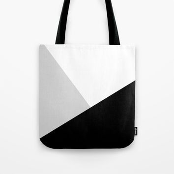 Monochromatic Tote Bag by ARTbyJWP