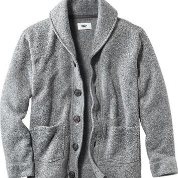 Old Navy Boys Sweater Fleece Cardigan