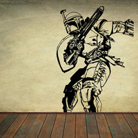Star Wars Vinyl Wall Decal Wall Decor Sticker Home Decor Kids Children Room Nursery Decal